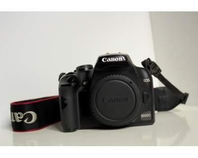 Canon Eos 1000D usato in vendita Lucca